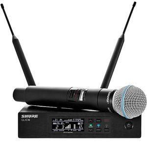 Shure QLX D draadloos microfoon huren