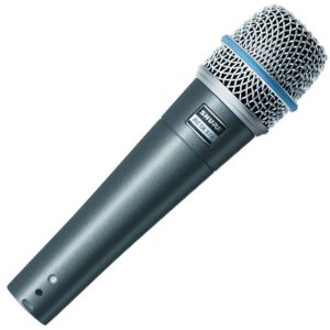Shure beta 57A microfoon
