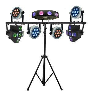Disco verlichting set