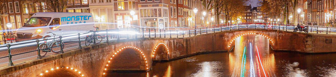 Licht en geluid huren Amsterdam Monster Sound