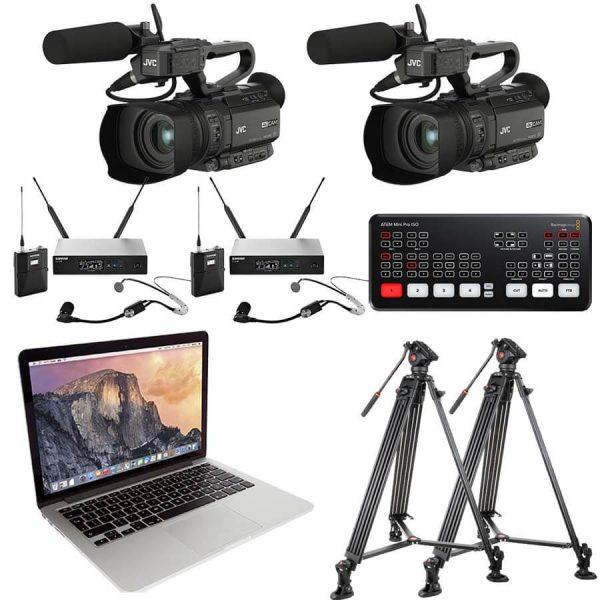 Live stream en videoregistratie groot